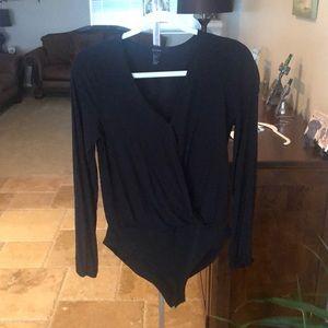 Clasp button bodysuit